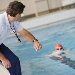 The swimming coach